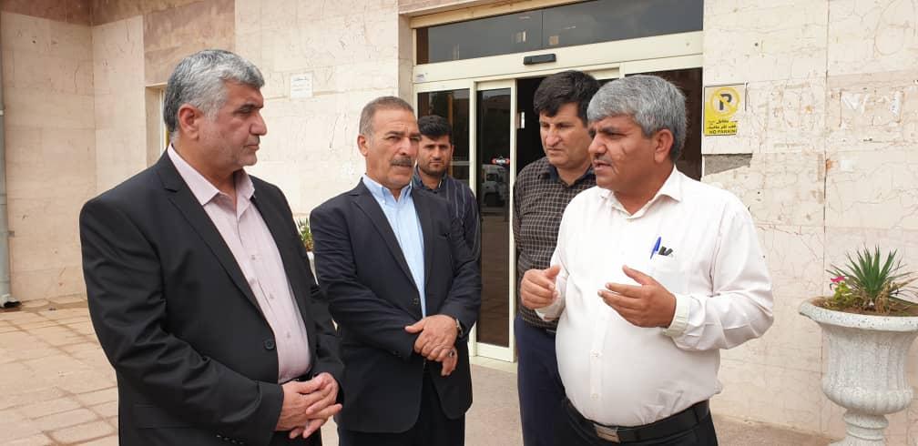 روز پرکار دکتر علیرضا ورناصری در شهرستانهای  مسجدسلیمان و لالی