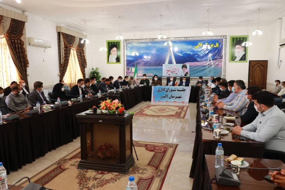 جلسه شورای اداری شهرستان مسجدسلیمان با حضور دکتر علیرضا ورناصری برگزار گردید