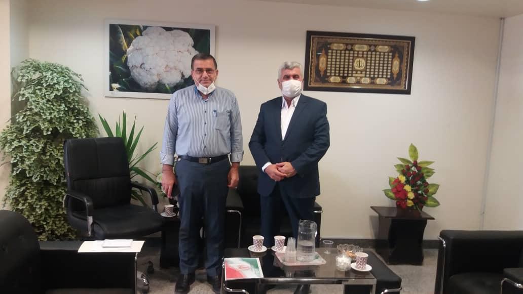 جلسه دکتر علیرضا ورناصری با رئیس سازمان جهاد کشاورزی استان خوزستان برگزار شد.