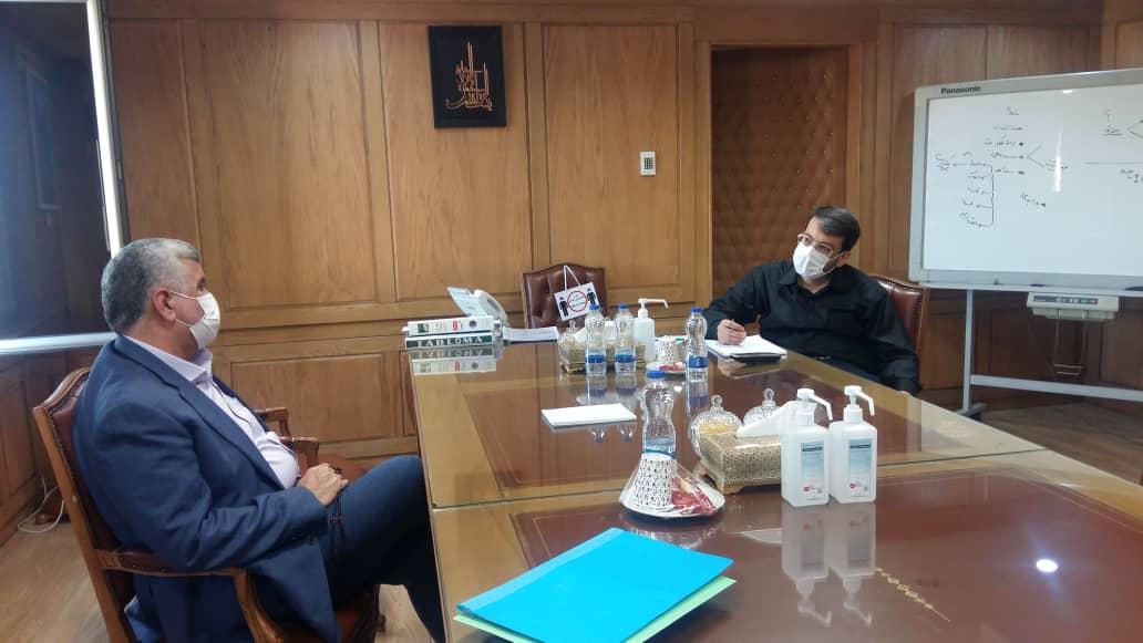 دیدار و گفتگوی دکتر علیرضا ورناصری با مدیرعامل شرکت سرمایهگذاری تامین اجتماعی (شستا)