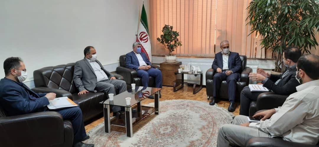 رئیس سازمان نوسازی مدارس کشور و مدیرکل نوسازی مدارس استان جهت بازسازی و مقاوم سازی مدارس 4شهرستان دیدار داشتند