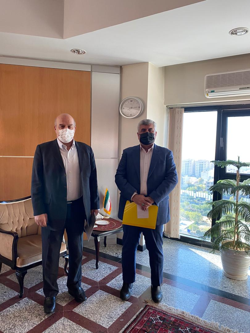 دیدار دکتر علیرضا ورناصری با رئیس سازمان حفاظت محیط زیست کشور