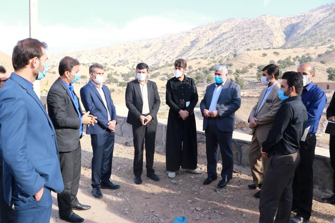 بازدید دکتر علیرضا ورناصری از برخی روستاهای شهرستان اندیکا