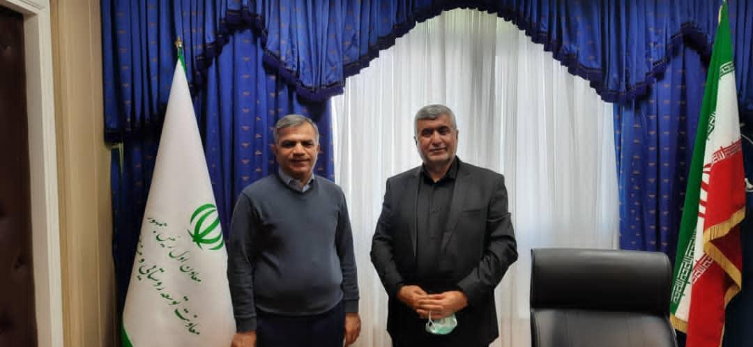جلسه دکتر علیرضا ورناصری با معاون توسعه روستایی و مناطق محروم ریاست جمهوری
