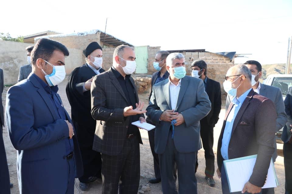 بازدید دکتر علیرضا ورناصری از برخی روستاهای توابع هفتکل