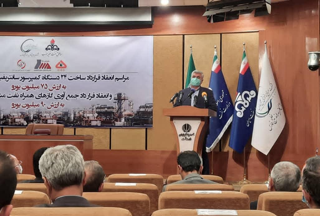 با حضور نماینده مردم مسجدسلیمان،لالی،هفتکل و اندیکا صورت گرفت:قرارداد ساخت تجهیزات جمعآوری گازهای مشعل امضا شد