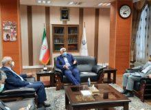 جلسه نماینده مسجدسلیمان، لالی، هفتکل و اندیکا با وزیر آموزش و پرورش