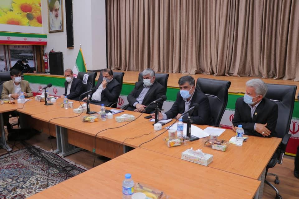 جلسه مشترک برخی شهرداران استان جهت بررسی مشکلات شهرداری های مسجدسلیمان، لالی، هفتکل و اندیکا برگزار شد