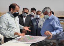 بازدید میدانی دکتر علیرضا ورناصری  از مسیر جدید پیشنهادی جاده میانبر اهواز-مسجدسلیمان