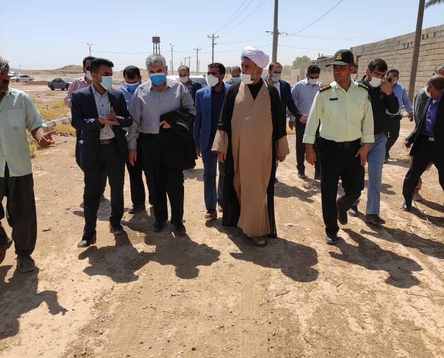 جزئیات سفر میدانی دکتر علیرضا ورناصری به هفتکل و دیدار با مردم منطقه