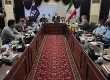 نشست کمیته برنامه ریزی شهرستان مسجدسلیمان باحضور دکتر علیرضا ورناصری از طریق ویدئوکنفرانس برگزار شد