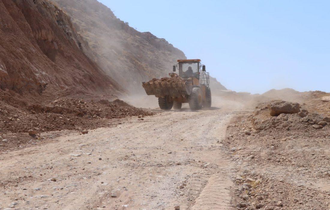 عملیات اجرایی احداث محور مسجدسلیمان_ایذه (منطقه جریک) با اعتباری بالغ بر 60 میلیارد ریال آغاز شد