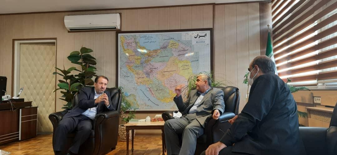 دیدار دکتر علیرضا ورناصری با سید محمد موسوی مدیرعامل سازمان تعاون روستایی کشور