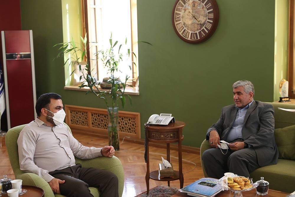 دیدار و گفتگوی دکتر علیرضا ورناصری با وزیر ارتباطات و فناوری اطلاعات