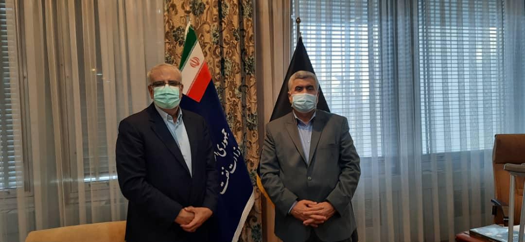دیدار نماینده مردم مسجدسلیمان، لالی، هفتکل و اندیکا با وزیر نفت