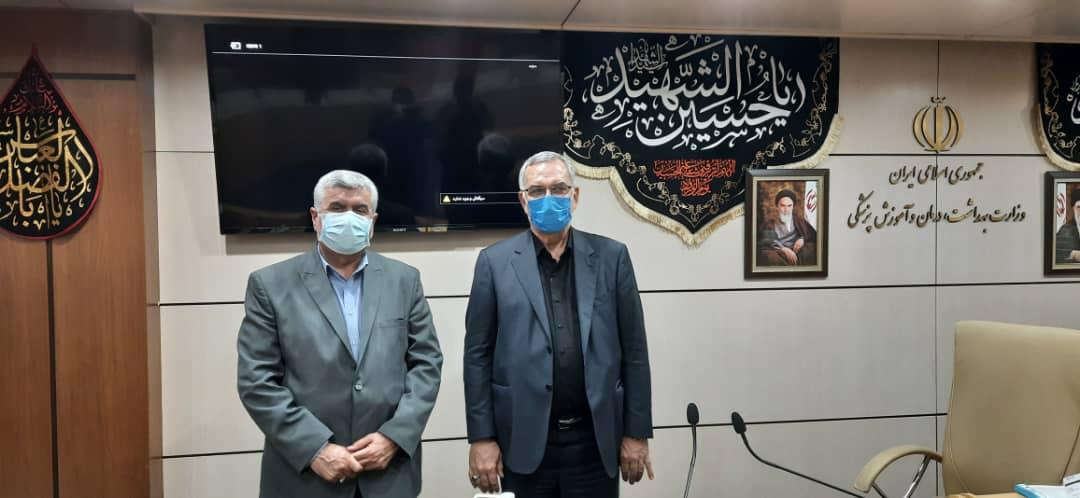 نشست مشترک دکتر علیرضا ورناصری با وزیر بهداشت و درمان برگزار شد