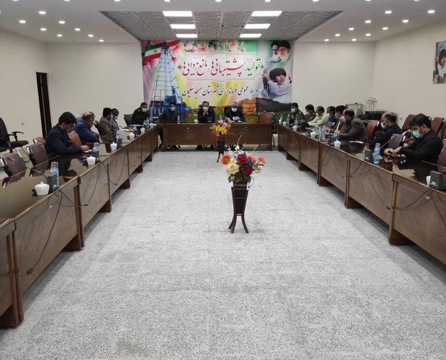 جلسه نماینده مجلس با مدیران دستگاههای اجرایی شهرستان مسجدسلیمان برگزار شد